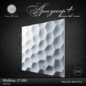 Gypsum 3d panel Z-308 from Artdekor