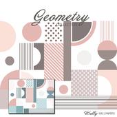 Обои Геометрия Пастель
