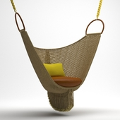 Качели LouisVuitton Swing Chair By Patricia Urquiola