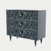 Gulliver Three-Drawer Dresser