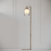 Articolo - LUMI Floor Lamps - Brass - Gray and Gray