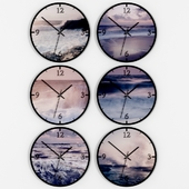 Set wall clocks.