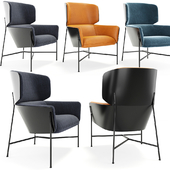 Caristo High Back Armchair by SP01