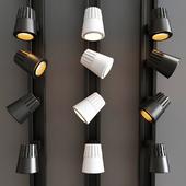 Beamshift Line Cylinder Track Head Light