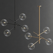 Aksel 4 Light Pendant