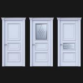 Дверь Белоравуд АРТ3 Белая
