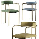 West Elm Lenox Velvet Dining Chair