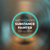 Substance Painter Batch Loader⁣