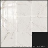 ABK Sensi Wide Calacatta Gold 1200x1200 Set 1