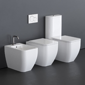 Scarabeo Ceramiche Teorema 2.0 WC art. 5138, art. 5139, art. 5140
