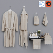 Decorative bathroom set 5