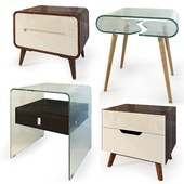 Curbstones from IMODERN. Nightstand, bedside table.
