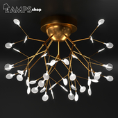 Gold Tree Chandelier V1