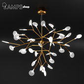Gold Tree Chandelier V2