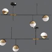 Mid Century Modern 3 Light