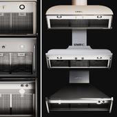 Kitchen Appliances Smeg Hoods Set 1