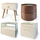 Curbstones from IMODERN (set2). Nightstand, bedside table.
