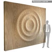 Параметрическая стена 004