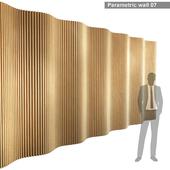 Параметрическая стена 007