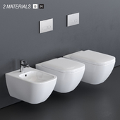 Duravit HAPPY D.2 Wall-hung WC
