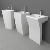 Set Wash basin 7