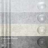 Concrete Plaster Tiny Cracks Set_00