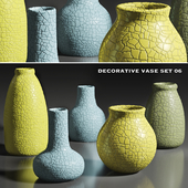 decorative vase set 6