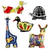 Ceramic figurines. Turov art