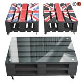 Europallets table Britain