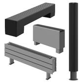 JAGA floor radiators