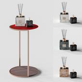 High side table & Decor set