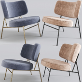 Calligaris Coco Lounge Chair Fabric