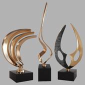Sculptures decor set by Bob Bennett
