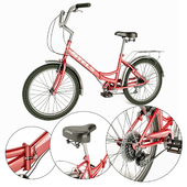 Folding bike STELS Pilot 750