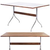 Nelson Swag Leg Rectangular Work Table