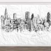 WALLSTREET / wallpapers / Urban 6_18446_18447_Sketch NY