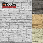 Front panels from the manufacturer Döcke / SLATE Collection