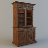Classic Carved Showcase