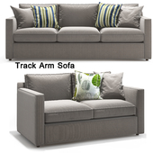 Crate & Barrel_Track Arm Sofa_Loveseat sofa