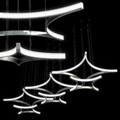 композиция из светильников Tlro_40_70 Luchera