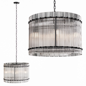 Restoration Hardware SAN MARCO 1-TIER ROUND CHANDELIER 22 Black
