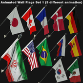 Animated Flags Set 1