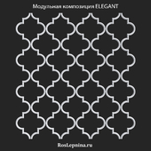 OM ELEGANT modular composition from RosLepnina