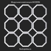 OM Modular composition MODERN by RosLepnina