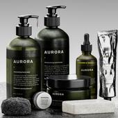 Bolia - Aurora bathroom set 01