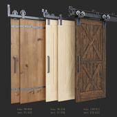 Раздвижная амбарная дверь (Garrick Barn, Classic, I-Beam)