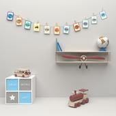 Decorative set for the nursery