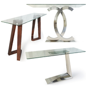 Console table from Imodern. Console table.