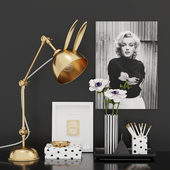 Decorative Set Black & White