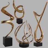 Sculptures decor set by Bob Bennett 03
